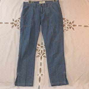 🏆LUCKY BRAND Sienna Slim Boyfriend Chambray Jeans